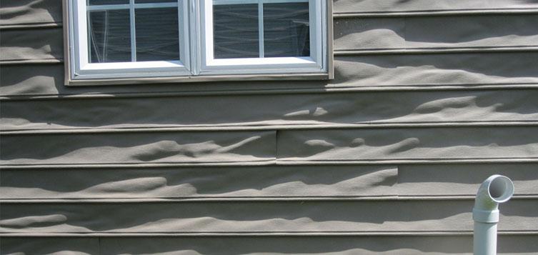 Image result for siding damage