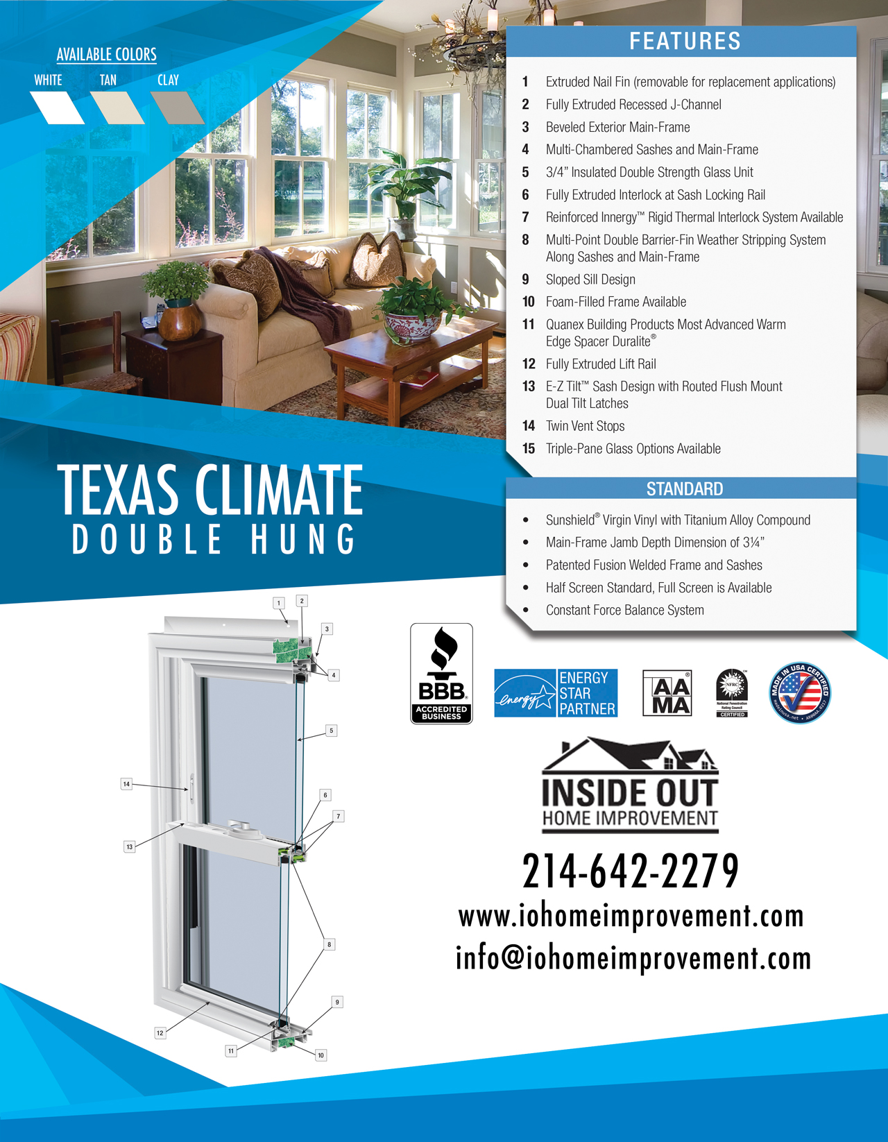 Image Of Texas Climate Control Windows
